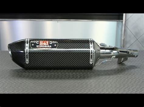 Knalpot All New Cb150r Slip On Yoshimura R 11 Biru yamaha yoshimura ii exhaust for yzf r15 doovi