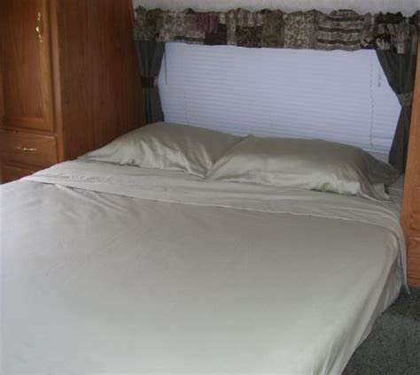 rv bed sheets short queen 60x75 rv and cer sheet set 100 cotton 300