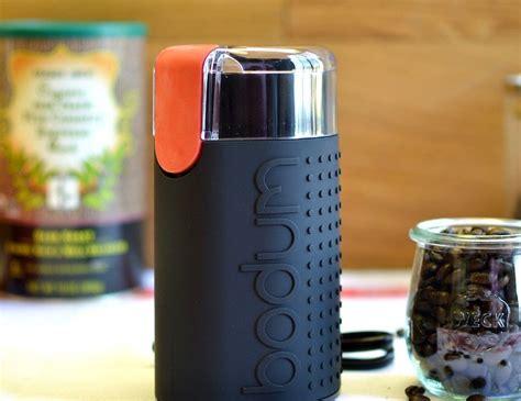 Electric Coffee Grinder blade electric coffee grinder by bodum bistro 187 gadget flow