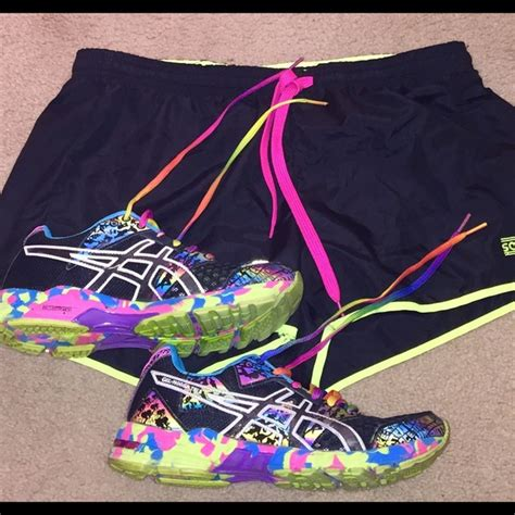 asics colorful shoes asics asics colorful running shoes from