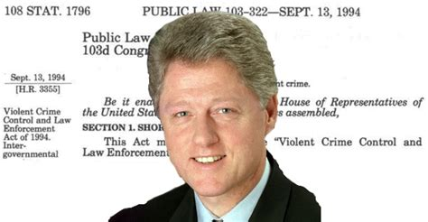 Bill Clinton Criminal Record Bill Clinton Was Right Supported The Crime Bill And That Should No One