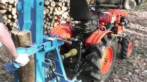 fendeuse a bois fendeuse a bois avec micro tracteur kubota b7001