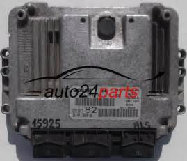 Ecu For Peugeot 206 Ecu Engine Controller Peugeot 206 1 4 Hdi Bosch 0 281 010