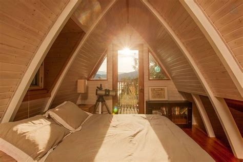 Small Cabins With Loft Floor Plans cozy cabin with ocean view woodz