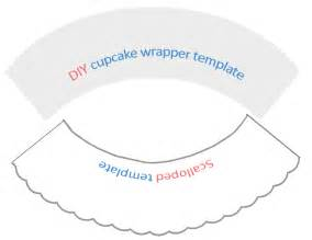 Cupcake Wrapper Template by Cupcake Wrappers Imagui