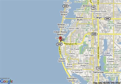 clearwater map of florida clearwater florida area map