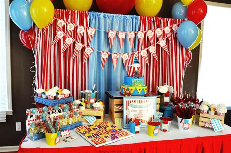 themed birthday 15 best carnival birthday ideas birthday inspire