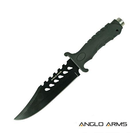 arm knife black anglo arms apache knife knifewarehouse