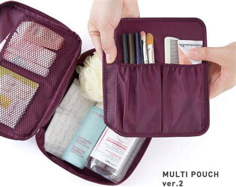 Multi Pouch Organizer Mpo multi pouch function makeup bag cosmetic bag organizer portable travel pockets handbag purse
