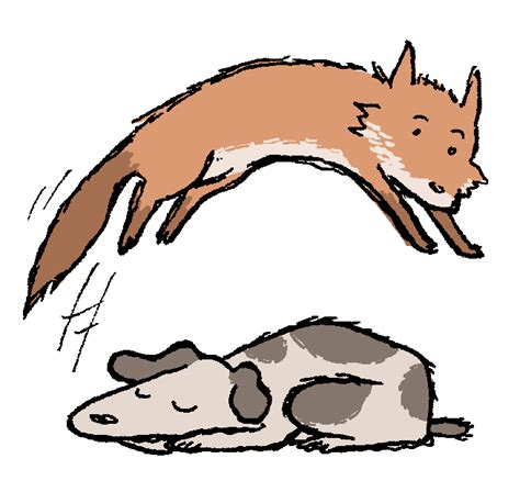 the brown fox jumped the lazy repix like view pic