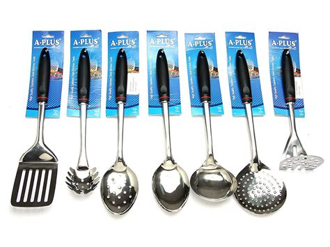 utensil köln 7 pc kitchen cooking utensil set serving tools spatula