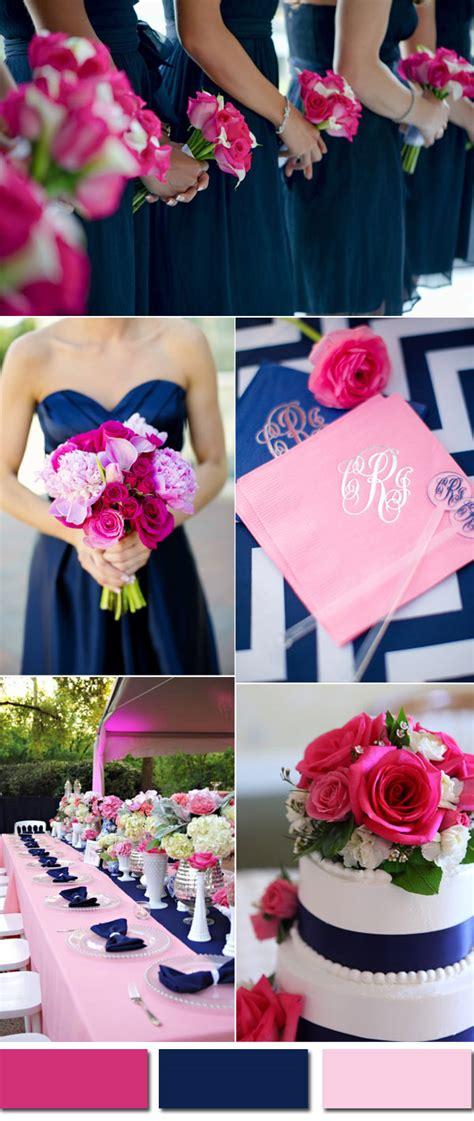 pink and blue wedding colors wedding colors trends for 2017 pink yarrow color