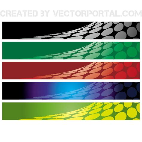 design x banner vector abstract banner 468x60 design free vectors ui download