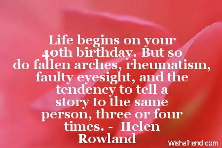 1000 40 birthday quotes on 40 year birthday quotes quotesgram