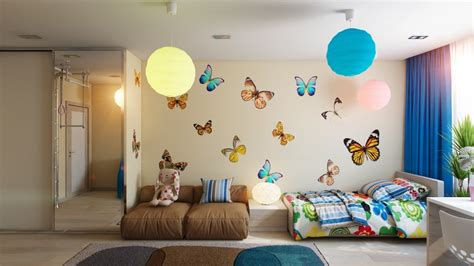 childrens butterfly bedroom accessories apartments wonderful kids bedroom decor ideas with