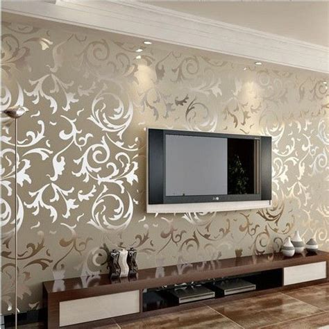 home decorative wallpaper luxury embossed patten textured wallpaper high end 10m