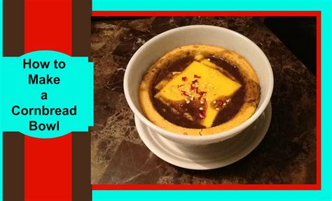 the cooking channel how to make a cornbread bowl video