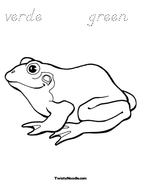 frog coloring page outline frog outline coloring home