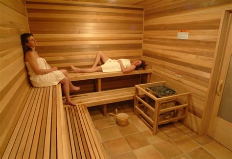 Sauna Bathtub by Spa Amenities Sauna Tub Tranquility Room Fitness Room