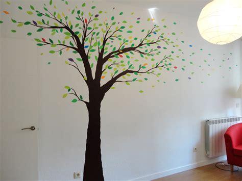 imagenes de decoraciones de uñas en flores dise 241 os de arboles pintados en paredes buscar con google