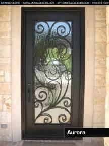 Iron And Glass Front Doors Iron Front Door Monaco Doors