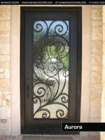 Ornamental iron doors monaco doors