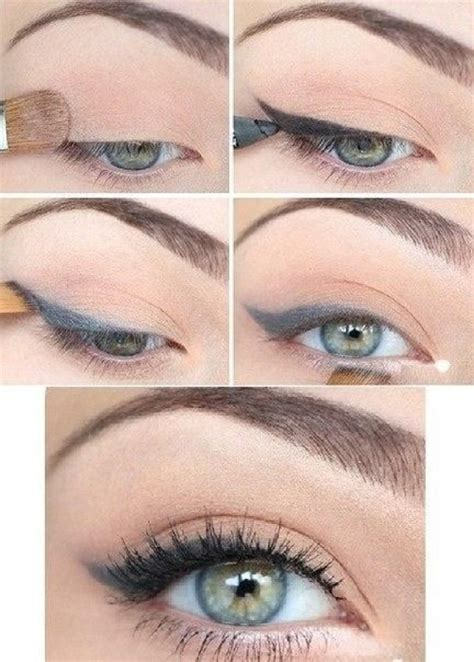 eyeliner tutorial for school top 10 easy natural eye makeup tutorials