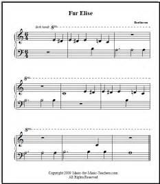 Piano sheet music for beginners free sheet music for piano