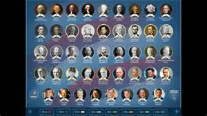 presidents of the united states the presidents of the united states of america list of