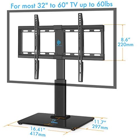 Tempered Glass Universal 4 45 5 55 Inch Screen Protector Antigores universal table top tv stand for 32 to 60 inch tvs with 40