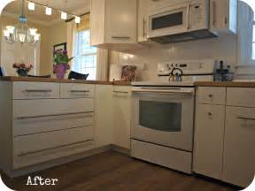 Peninsula Kitchen Cabinets by Kitchen Remodel On A Budget Modern Cottage Simply Swider