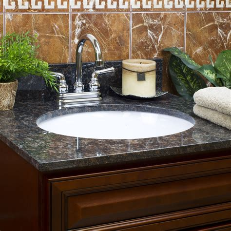 brown granite vanity tops