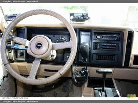jeep cherokee xj dashboard 1994 jeep cherokee information and photos zombiedrive