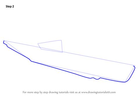 how to draw a cartoon boat step by step learn how to draw a u boat boats and ships step by step