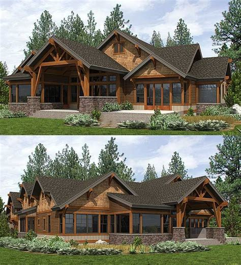 Mountain House Designs by 25 Best Ideas About Mountain House Plans On Pinterest