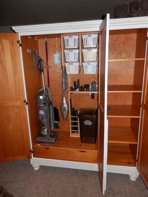 Vacuum Cleaner Storage Cabinet 17 Best Ideas About Vacuum Storage On Mud Rooms Utility Closet And Ikea Closet Storage
