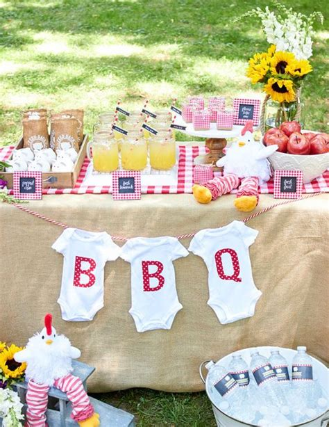 Bbq Baby Shower Favors by Bbq Backyard Baby Shower Favor Ideas L Favor Couture