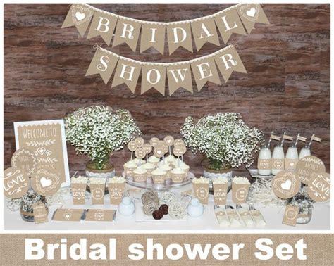 best 25 burlap bridal showers ideas on burlap