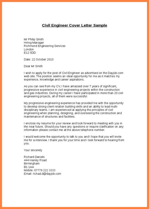 best application letter for civil engineer application letter for an engineering position 28 images