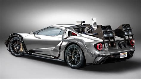 ford gt concept ford gt concept imagined as time machine from back to the