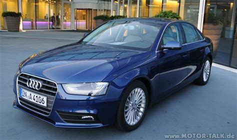 Scubablau Audi A4 audi a4 seite scubab c7af5c6fca scubablau metallic