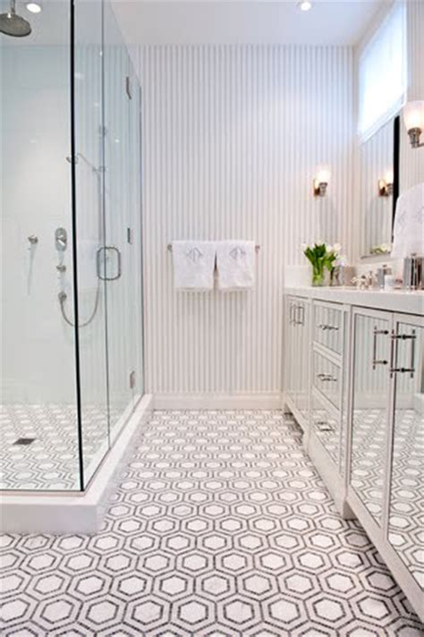 honeycomb tile bathroom honeycomb stone mosaic traditional tile other metro