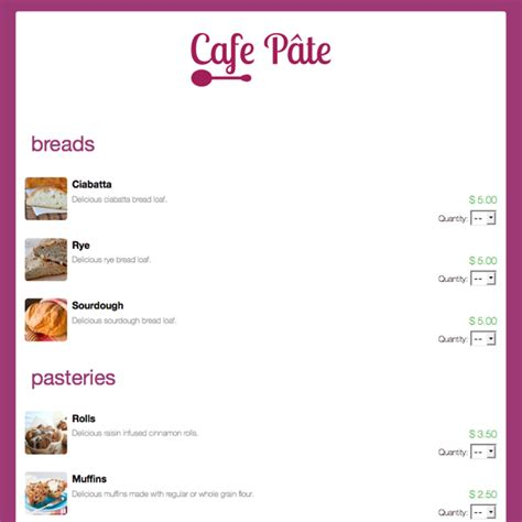 bakery order form template bakery order form template compatible depict so cupcake