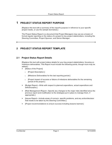 conference summary report template agenda for project status meeting