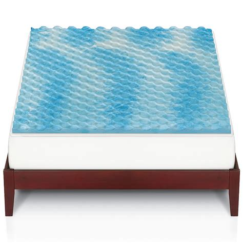 memory foam futon mattress topper gel memory foam mattress topper only 23 99 was 110