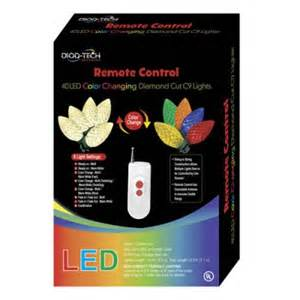 christmas lights 40 remote control led color changing c9
