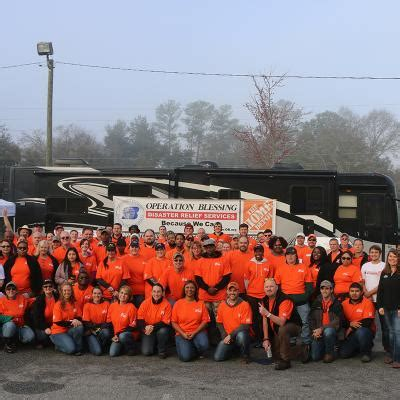 the home depot team depot operation blessing bring