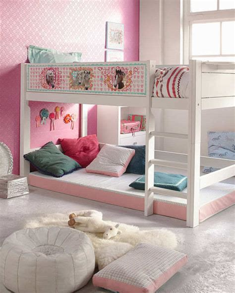 lofted bed ideas ideal design concepts for loft beds for girls small room decorating ideas