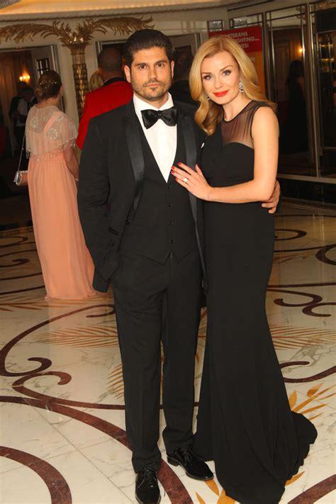 katherine jenkins and husband andrew levitas enjoy first katherine jenkins stuns in glamorous gown on date night