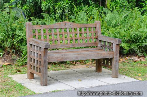 bench definition garden bench photo picture definition at photo
